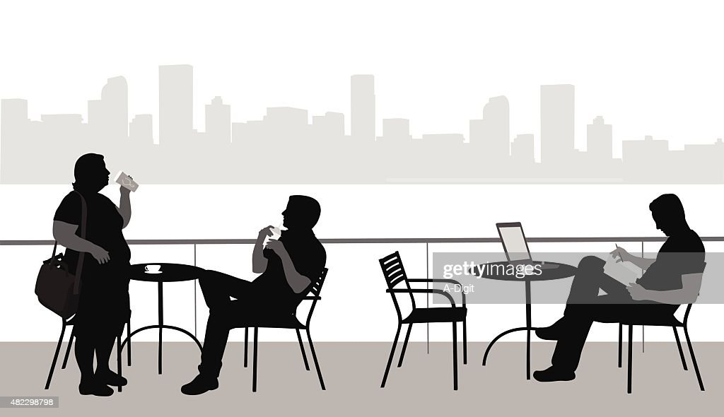Meeting Places : stock illustration