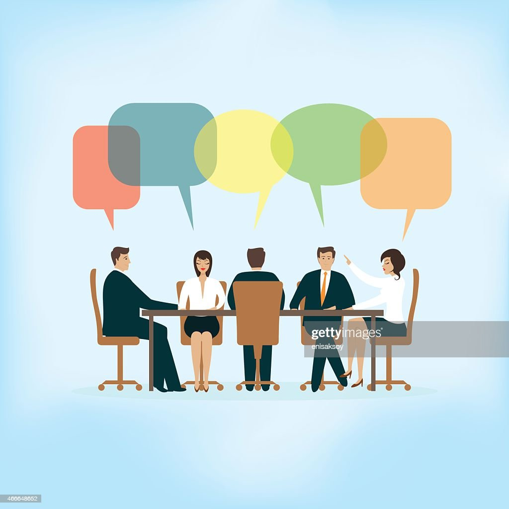 Meeting : stock illustration