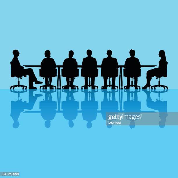 Meeting (Table is Separate and Moveable)