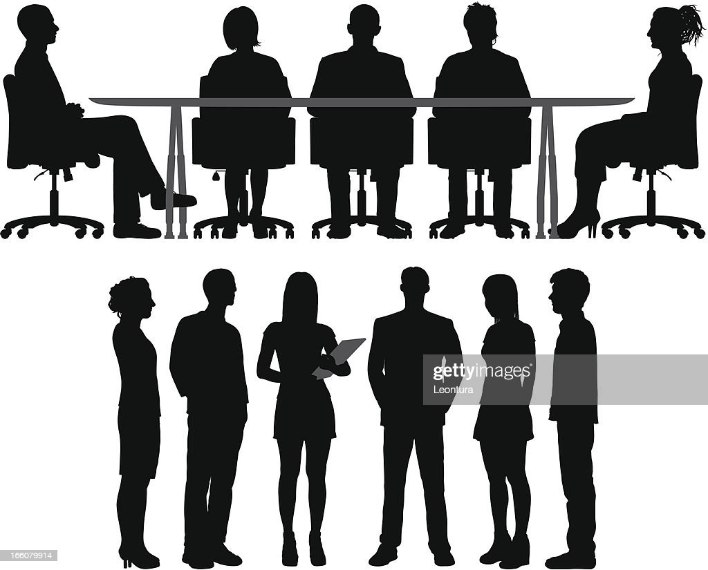 - Meetings : Stock-Illustration
