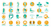 Mega collection of medical icon, s. Templates icon, s for dental clinic, orthopedic, hepatology, cardio, e.n.t. and so on