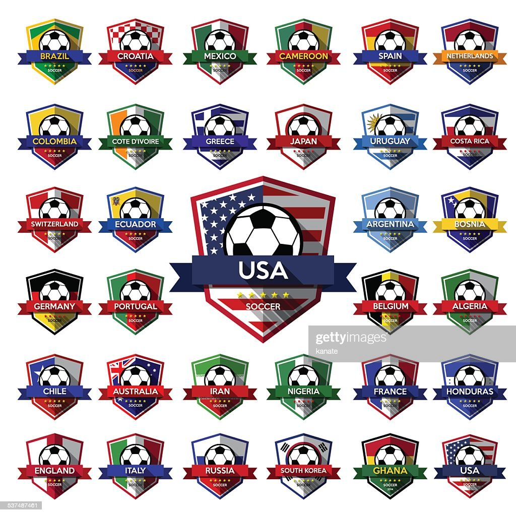Mega Collection of soccer ( football ) badge