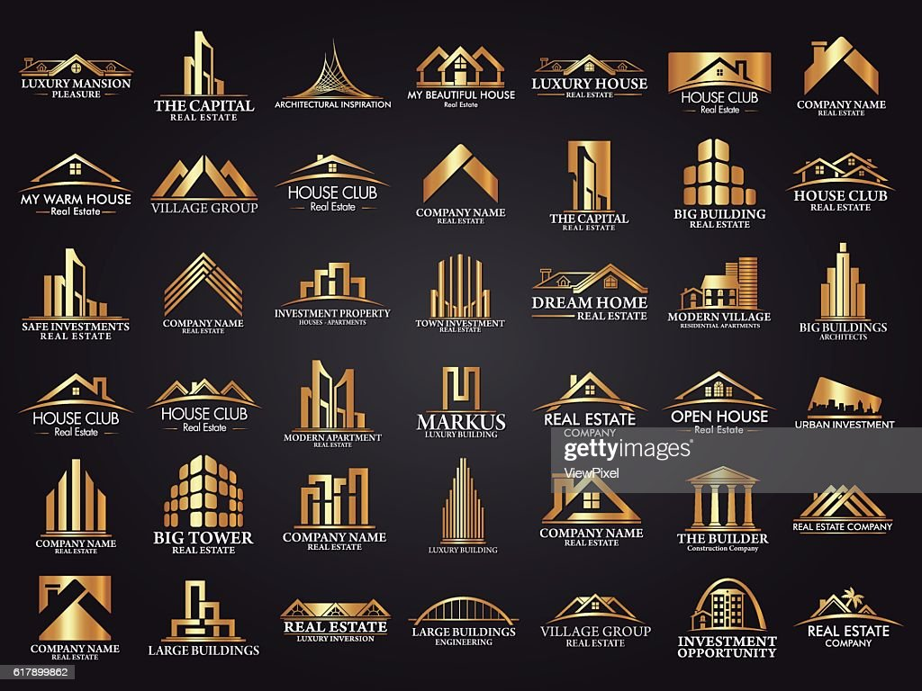 Mega Set and Big Group, Real Estate, Building and Construction Logo