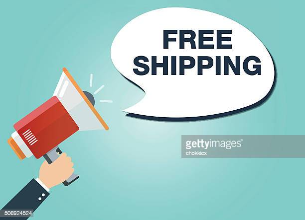 megaphone and free shipping
