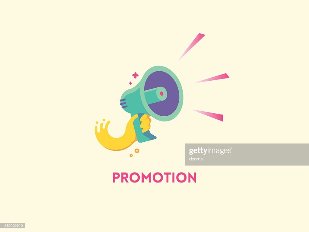 Megaphone icon. Marketing promotion concept.