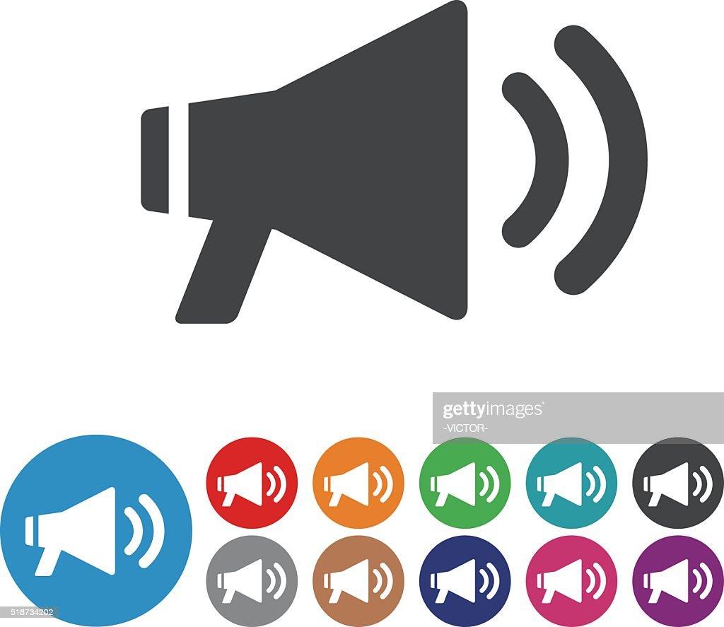 Megaphone Icons - Graphic Icon Series