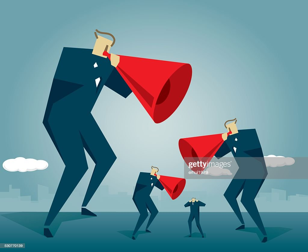 Megaphone : stock illustration