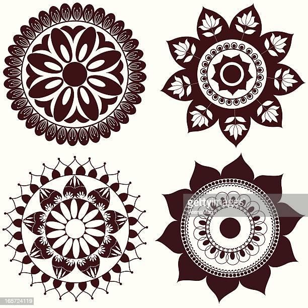 Mehandi Circle Design