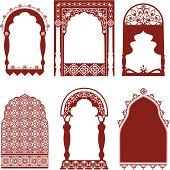 Mehndi Arched Windows