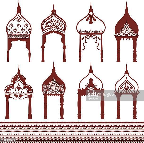 Mehndi Domes