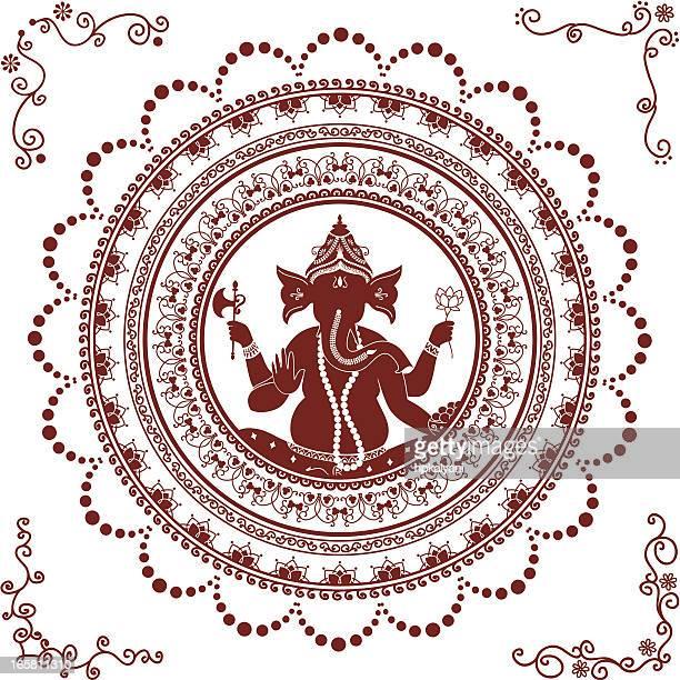 Mehndi Ganesh Mandala