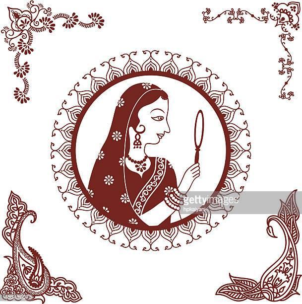 Mehndi (henna) Indian Beauty