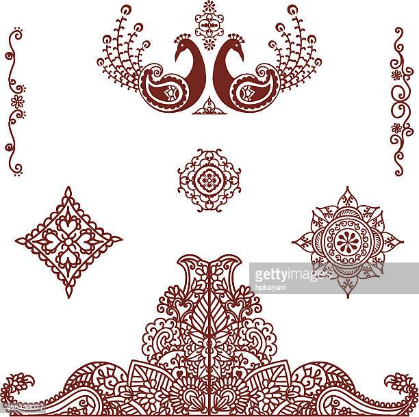 Mehndi (henna) Ornaments