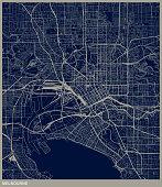 Melbourne city structure map
