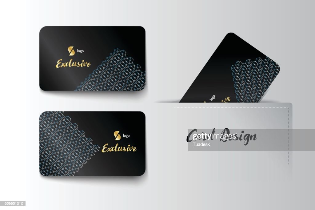 Member Vip And Business Card Vector Art | Getty Images