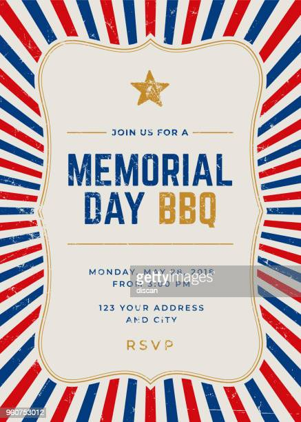 Memorial Day Special Party Invitation Template