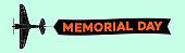 memorial day text  advertisement banner