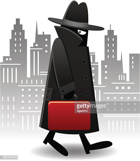Men in Black with Red Briefcase