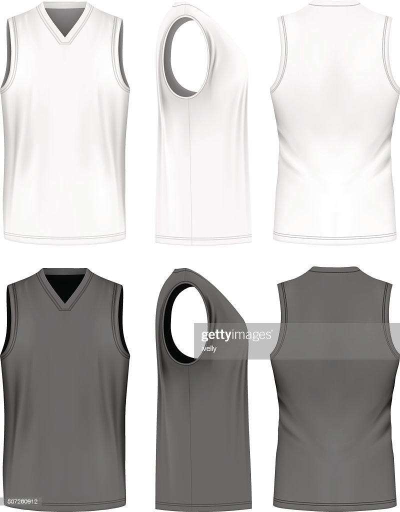 Men sport training sleeveless t-shirt.