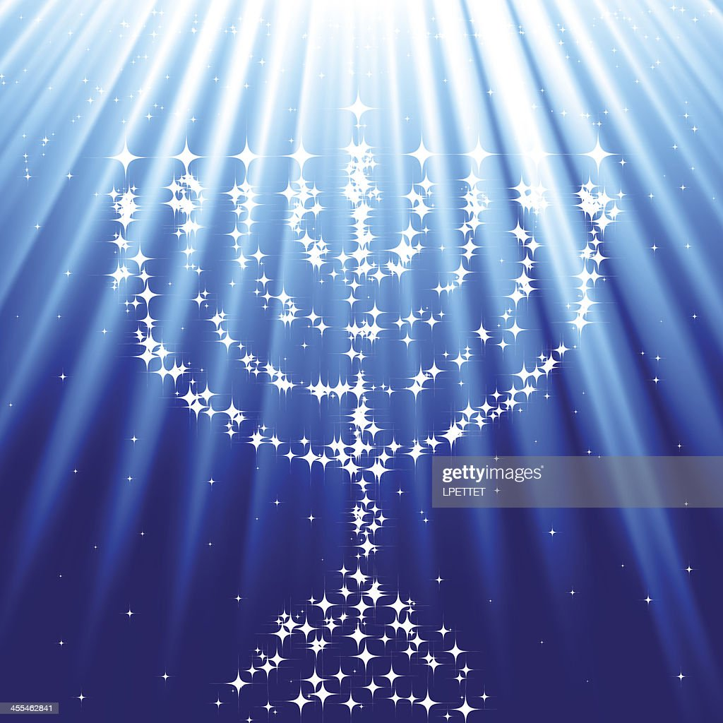 Menorah : stock illustration