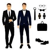 Men's Accessories. The groom.