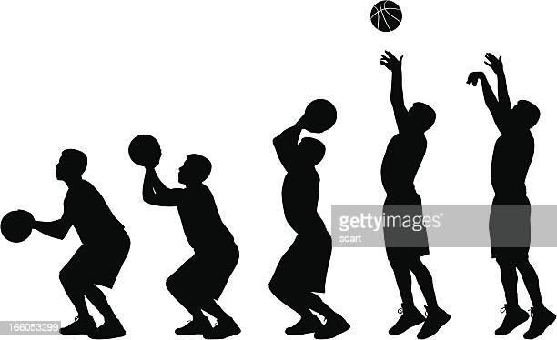 男子バスケットボールのシーケンス