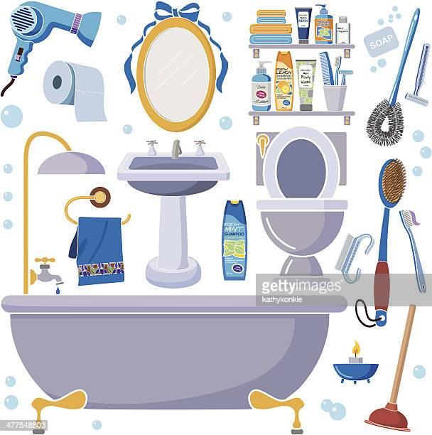 男性用バスルームのデザイン