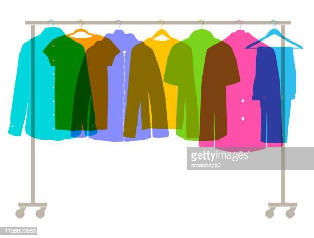 メンズファッション服 - 服装点のイラスト素材/クリップアート素材/マンガ素材/アイコン素材