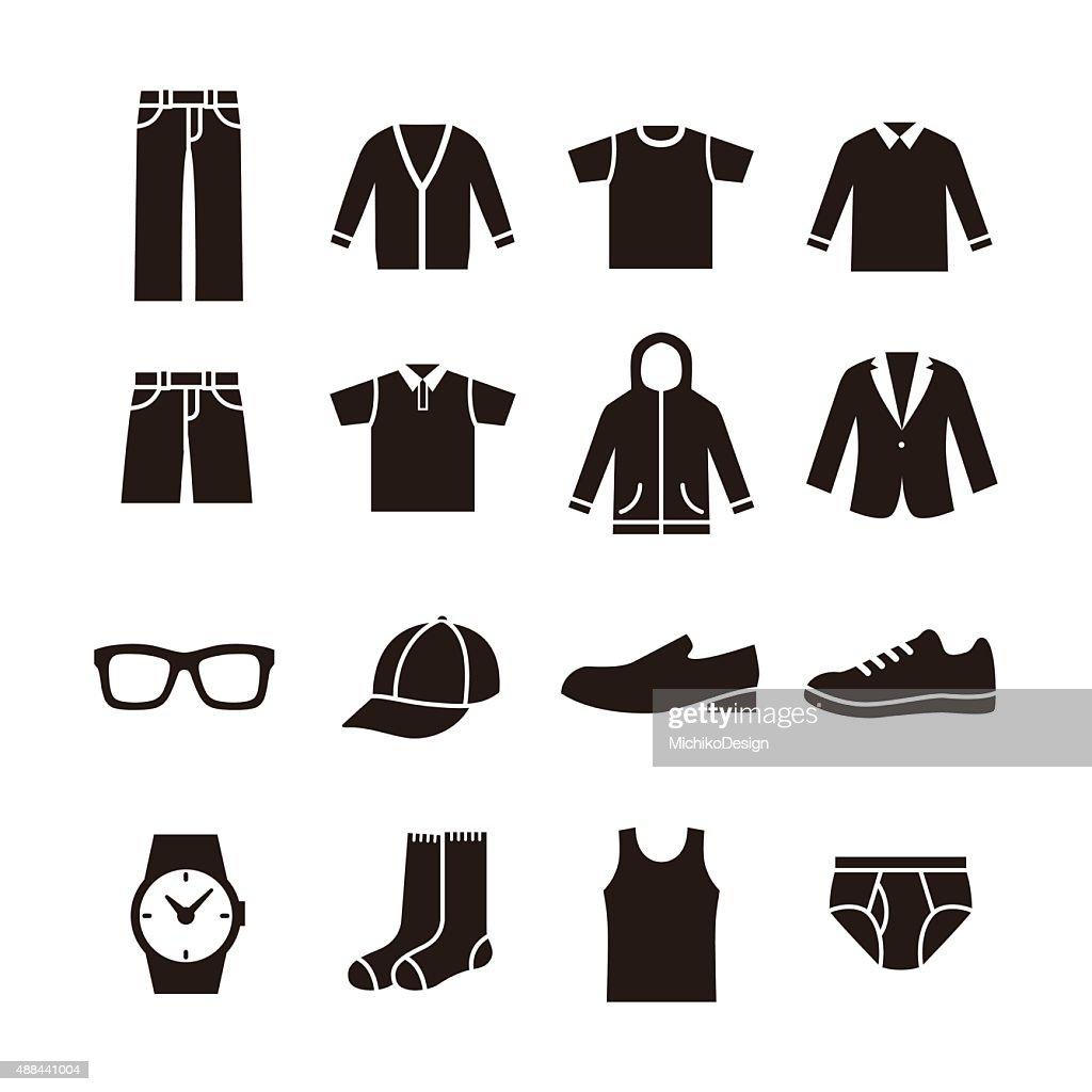Mens fashion icon