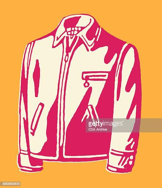 men's jacket - jacket stock illustrations