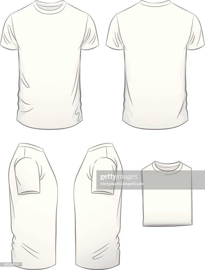 Men's Modern Fit T-shirt in Five Views