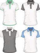 Men's  polo-shirt design templates