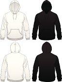 Men's Pullover Pocket Hoodie