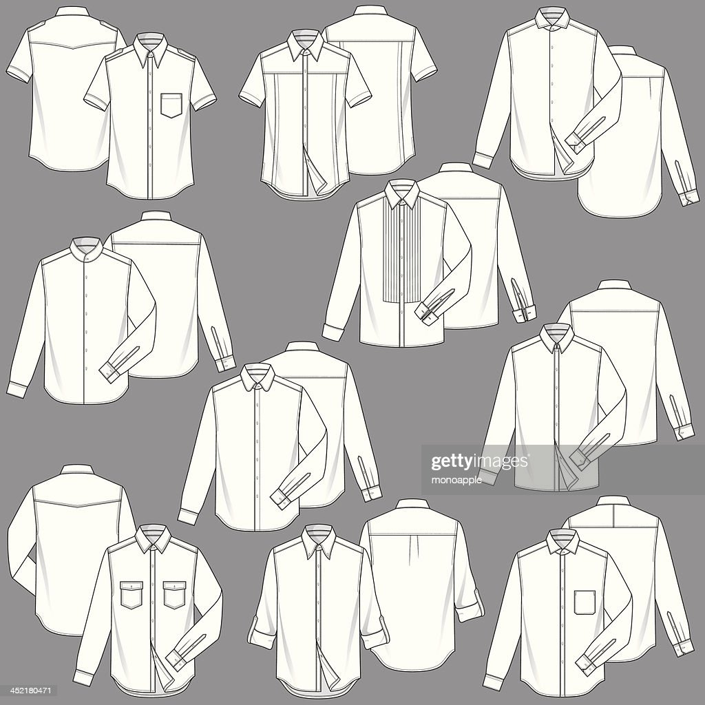 Mens Shirt Fashion Templates