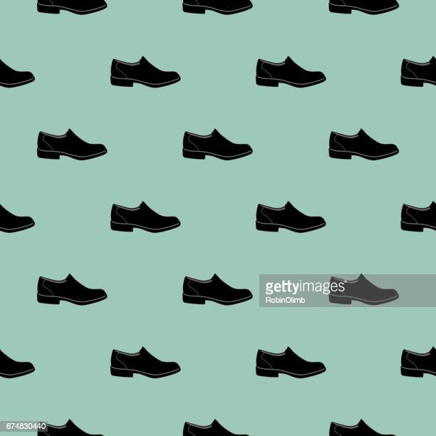 Mens Shoe Seamless Pattern