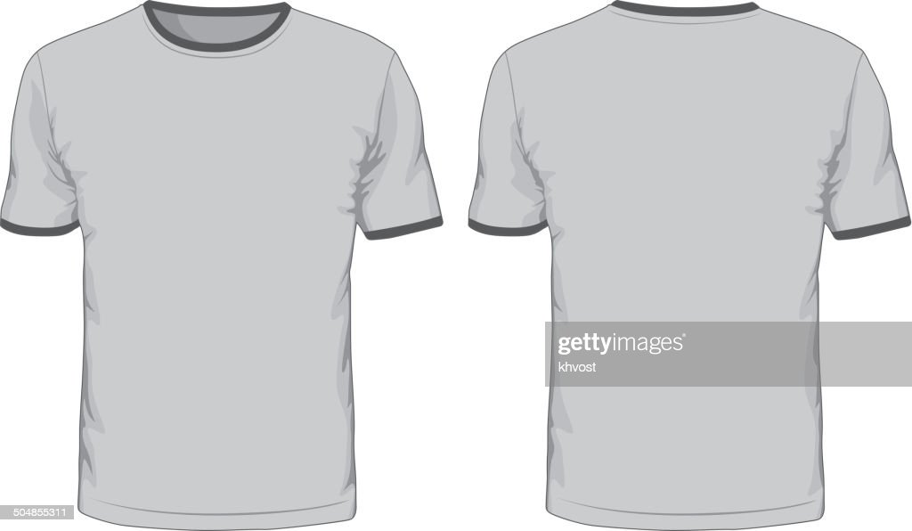 Men's t-shirts template