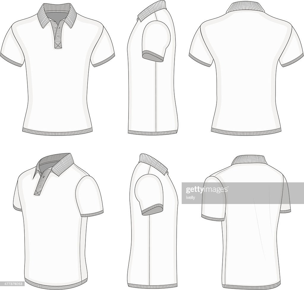 ffdd7826500 Polo Shirt Short Sleeve Vector - BCD Tofu House