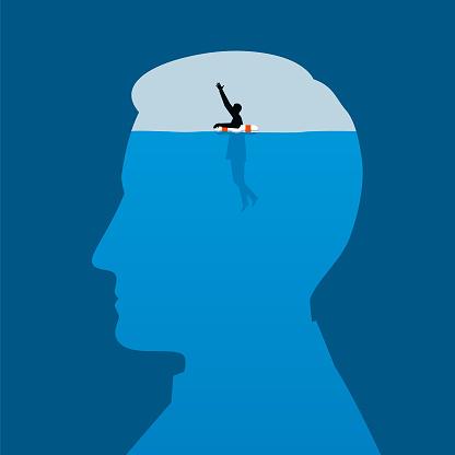 Mental Health Illustration - gettyimageskorea