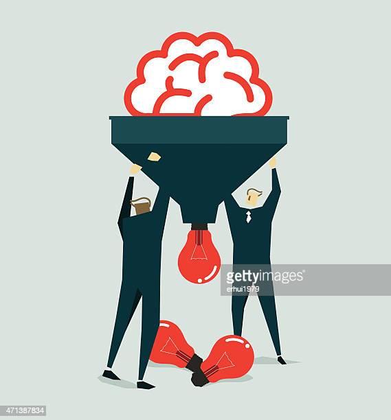 Mental labour-Illustration