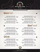 Menus are designed exquisitely beautiful, stylish and easy to use.