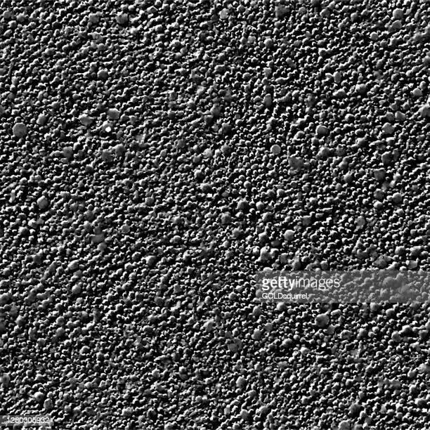 マクロの水銀表面 - クローズアップで発泡表面 - 光効果を持つシームレスな点線ベクトルの背景 - 過酷な生の不均一と荒いテクスチャーイラスト - 隕石の構造 - 鋼粗岩 - 水銀点のイラスト素材/クリップアート素材/マンガ素材/アイコン素材