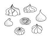 meringues set
