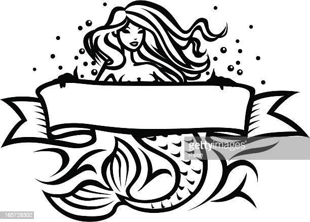 Sirena tatuaje
