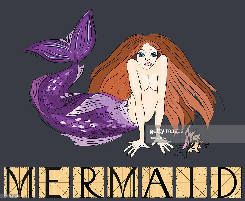 Mermaid with title