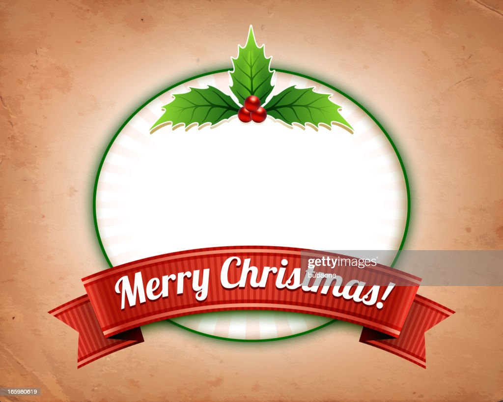 merry christmas and frame on old dirty paper vector art - Dirty Merry Christmas Pictures