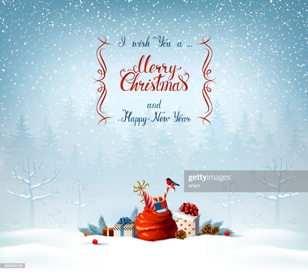 merry christmas and happy new year calligraphy inscription festive symbols on the holiday background high res vector graphic getty images merry christmas and happy new year calligraphy inscription festive symbols on the holiday background high res vector graphic getty images