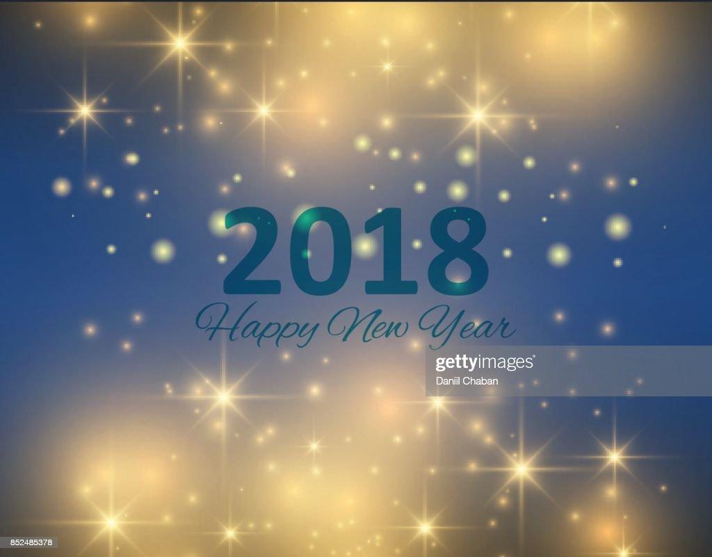 Frohe Weihnachten Und Neujahr 2018 Typografische Auf Urlaub