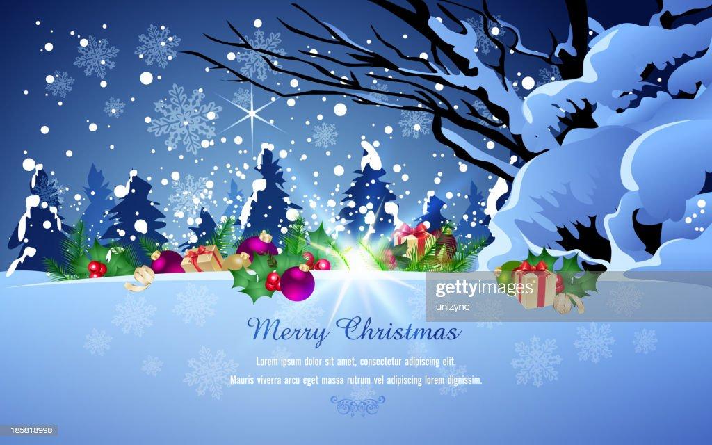 Hintergrund Weihnachten.Frohe Weihnachten Hintergrund Stock Illustration Getty Images