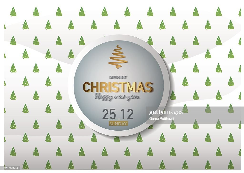 Merry Christmas Background Vector Illustration Ep01