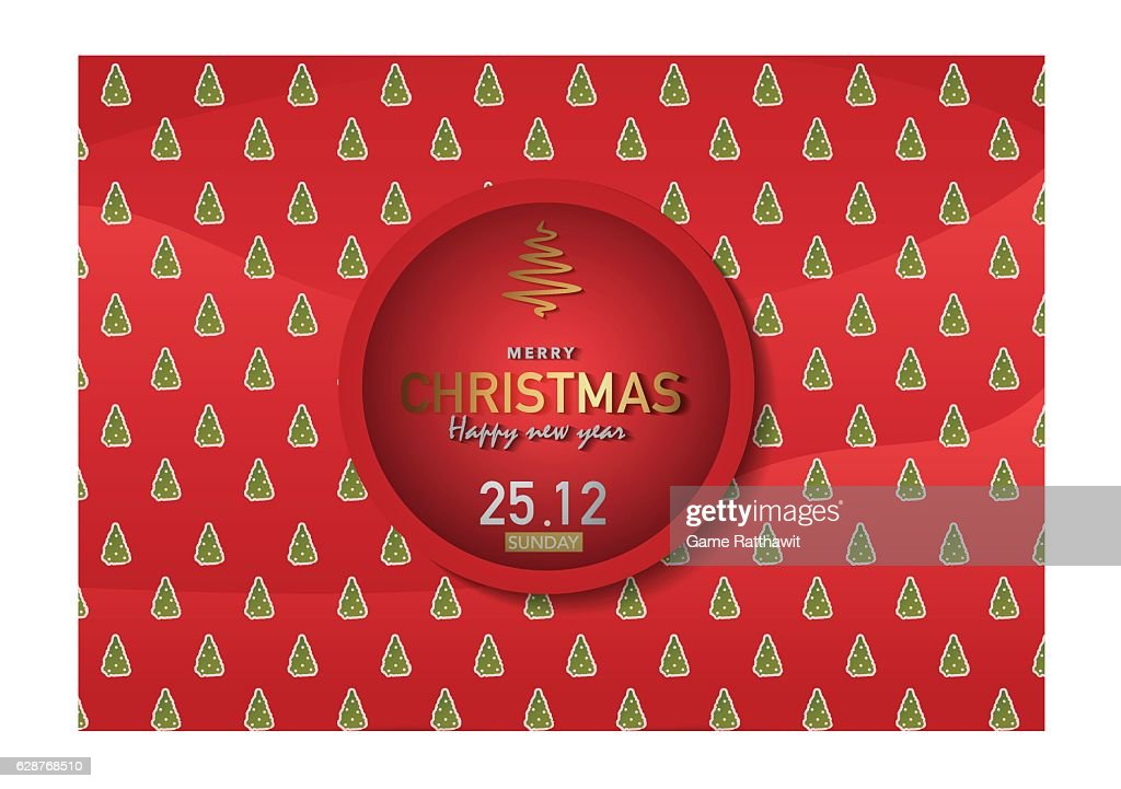 Merry Christmas Background Vector Illustration Ep02